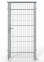 DREHTÜR ECONFENCE® BASIC LINE ZINK BT01-WB 1000x2000MM