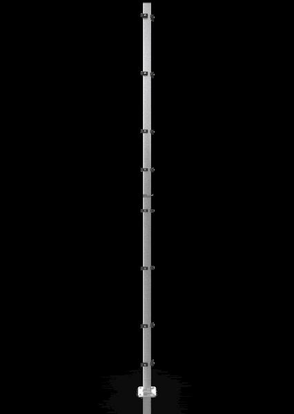 Universal-Eckpfosten ECONFENCE® BASIC LINE ZINK 80x40x4000MM