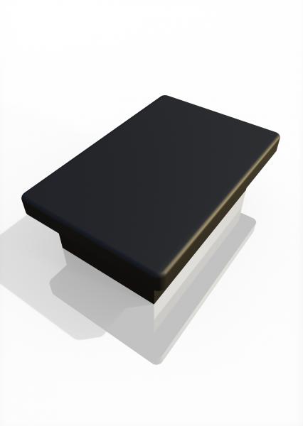Pfostenkappe für Tür-Traverse ECONFENCE® 60x40mm