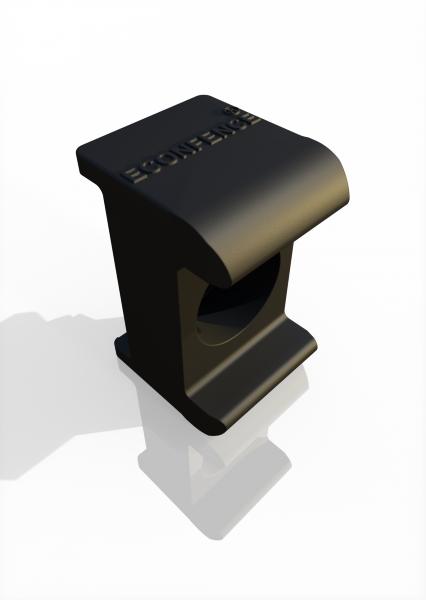 Gitterhalter (Einschlagversion) Reihenpfosten ECONFENCE® BASIC LINE