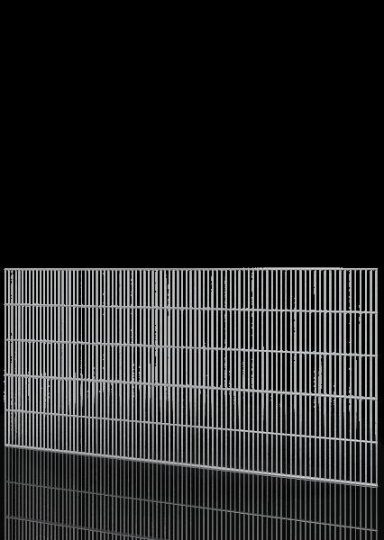 SCHUTZGITTER ECONFENCE® BASIC LINE ZINK 1000x2000mm