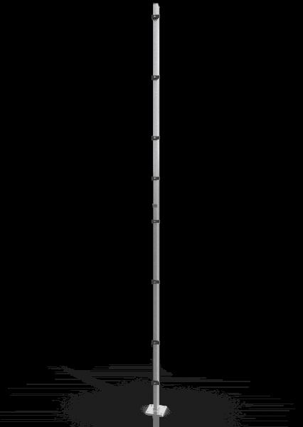 Reihenpfosten ECONFENCE® BASIC LINE ZINK 80x40x4000MM