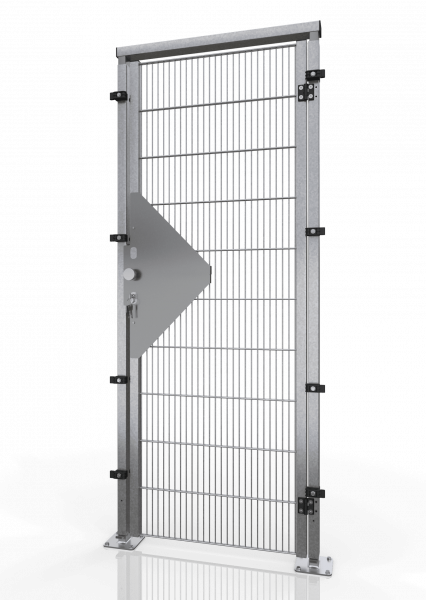 DREHTÜR ECONFENCE® BASIC LINE ZINK TS01 600x2000MM