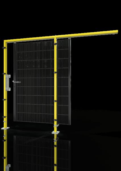 Schiebetür ECONFENCE® BASIC LINE BT01 1200x2000 RAL1021-9005