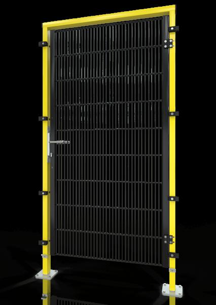 Drehtür ECONFENCE® BASIC LINE BT01 1000x2000 RAL1021-9005