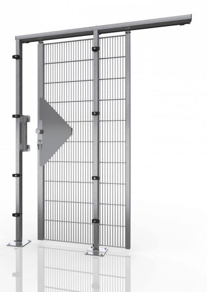SCHIEBETÜR ECONFENCE® BASIC LINE ZINK TS01 800X2400mm
